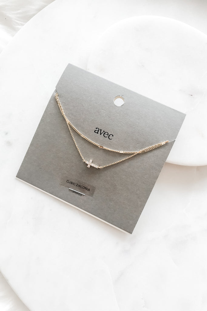 Always With Me Necklace - Gold