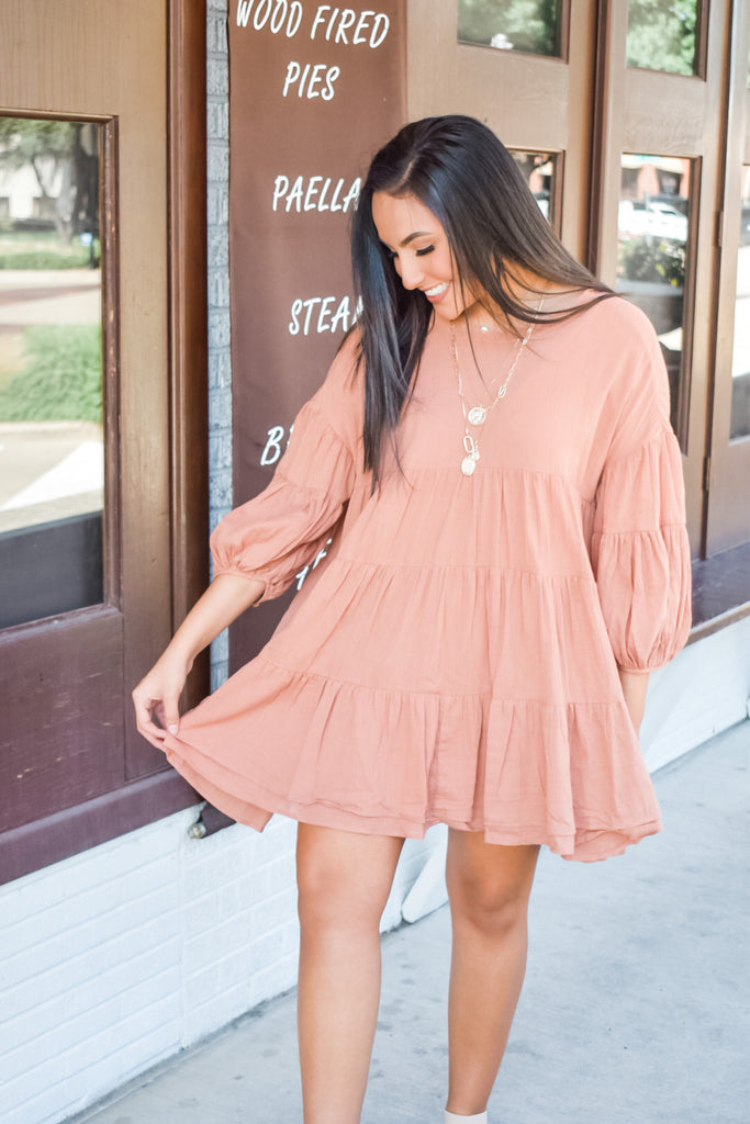 Casual Brunch Tunic- Ginger