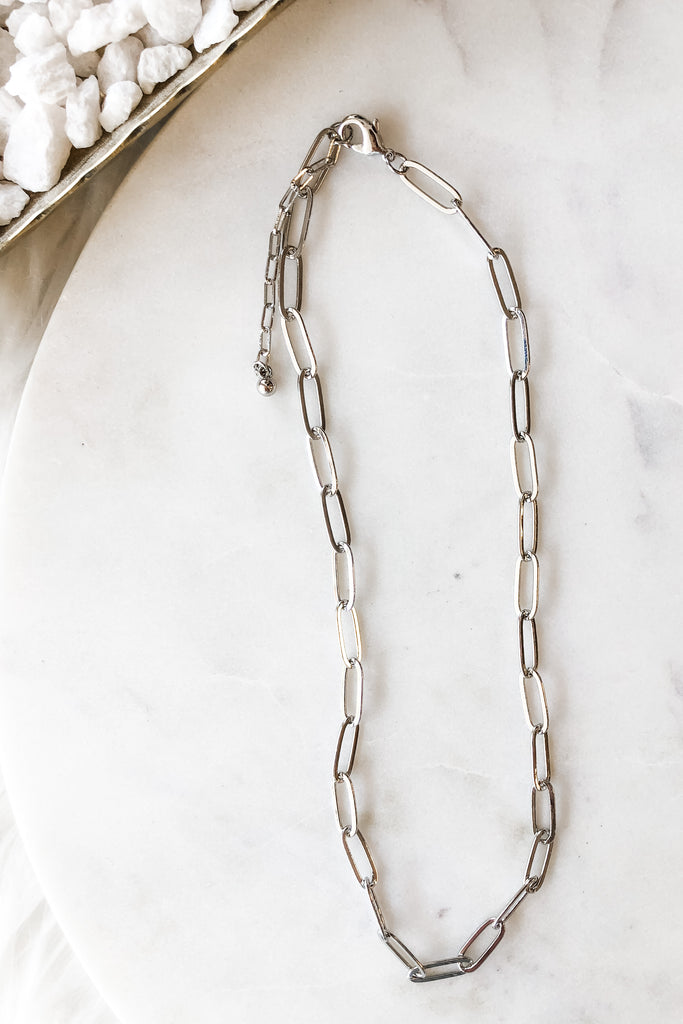 The Kate Necklace- Sliver