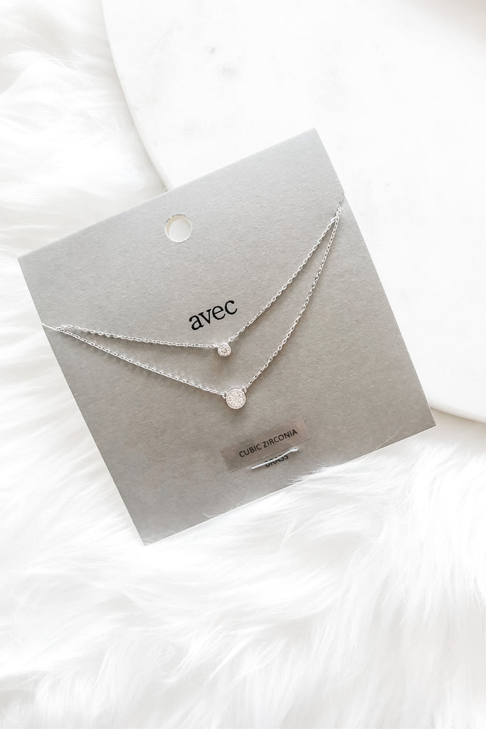Sweet And Lovely Necklace - Silver