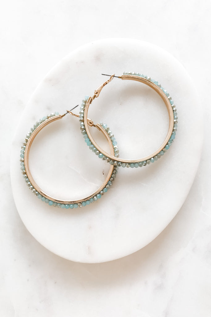 So Graceful Earrings- Mint