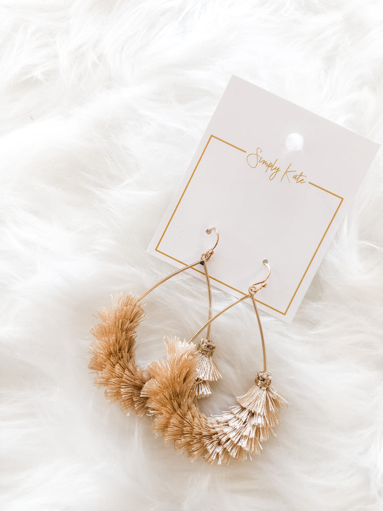 In This Moment Earrings- Natural