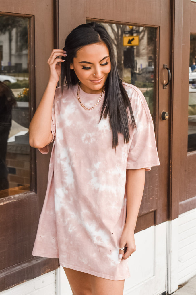 Clouded Intentions T-shirt Dress