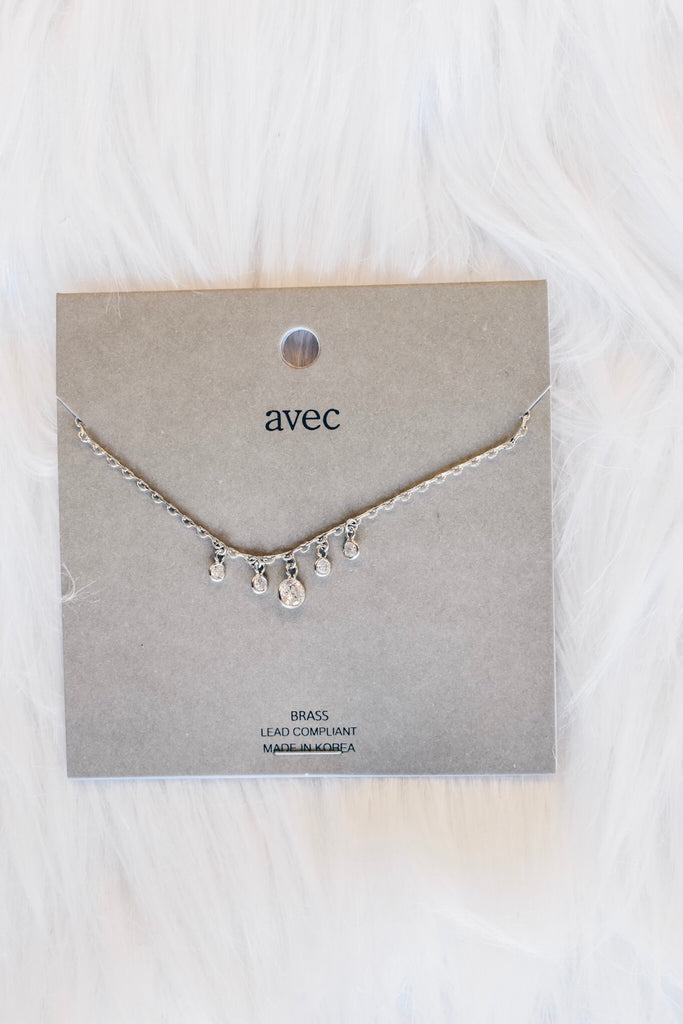 She's A Gem Necklace - Silver