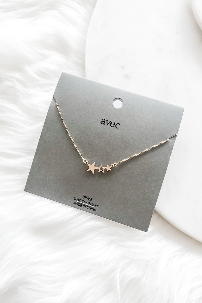 Star Daze Necklace - Gold