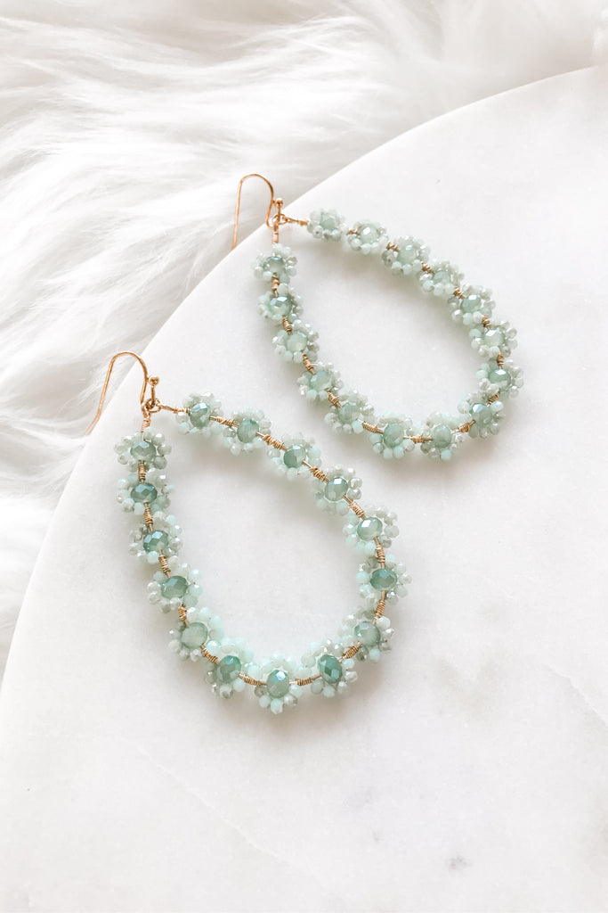 Oh Darling Earrings- Mint