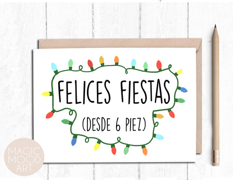 Felices Fiestas 2020 Card