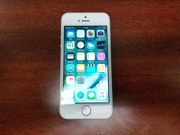 Apple iPhone SE A1723 - 16GB - White and Silver (Unlocked) Fair Condition - gorecell