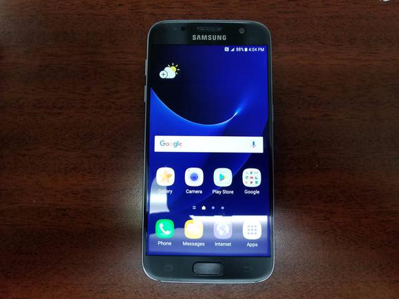 Samsung Galaxy S7 SM-G930W8 32GB Black Onyx (Telus) Good Condition