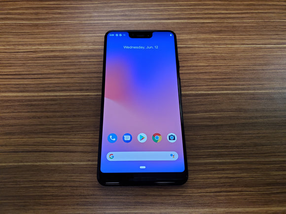 Google Pixel 3 XL 128GB Just Black - G013C (Unlocked) Good-Fair Condition