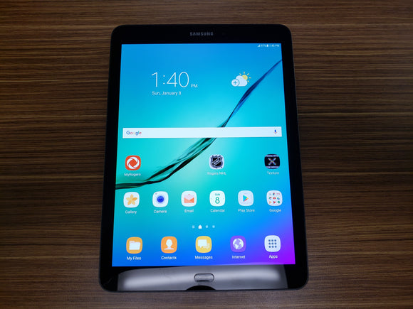 Samsung Galaxy Tab S2 SM-T817W 32GB (Cellular + WiFi) - Black - Good Condition