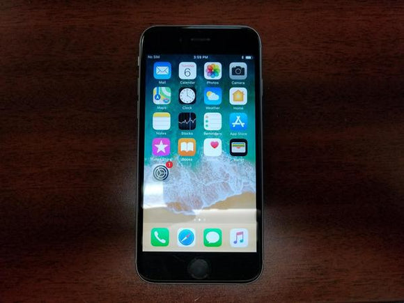 Apple iPhone 6S 32GB A1688 - Space Grey - (Unlocked) Fair Condition
