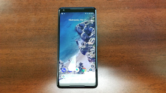 Google Pixel 2 XL 64GB Just Black - G011C (Unlocked) Very Good Condition - gorecell