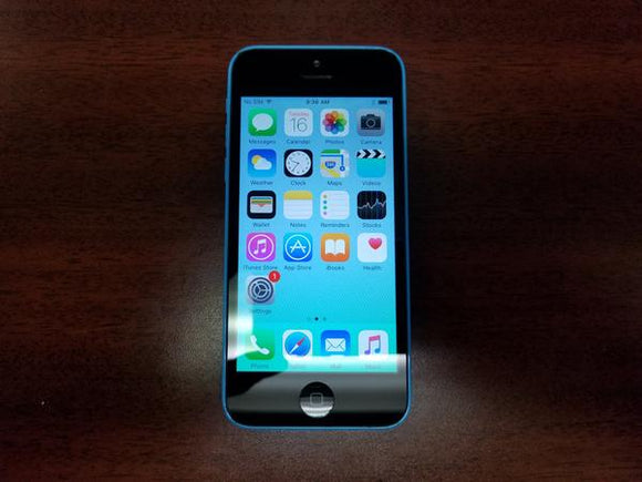 Apple iPhone 5C - A1507 32GB Blue (Unlocked) Good Condition Smartphone