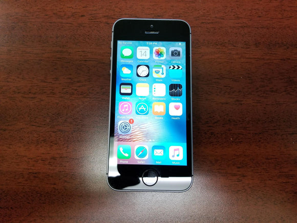 Apple iPhone SE A1723 - 16GB - Space Grey (Unlocked) Good-Fair Condition - gorecell
