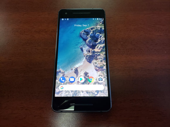 Google Pixel 2 G011A 64GB Just Black (Unlocked) Fair Condition