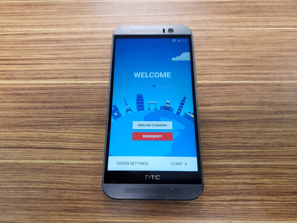 HTC One M9 0PJA110 32GB - Gunmetal Grey - (Unlocked) Fair Condition