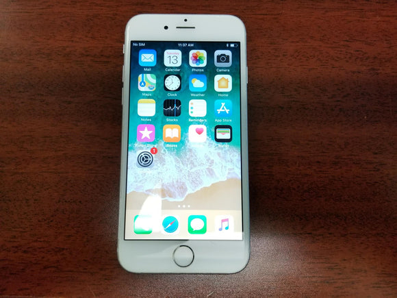 Apple iPhone 6S 16GB A1688 - White and Silver - (Unlocked) Fair Condition