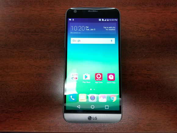LG G5 H831 32GB Titan - (Unlocked) - Fair Condition Smartphone