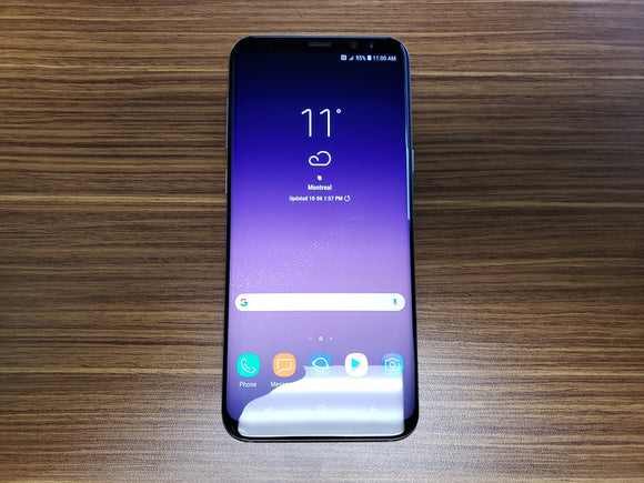 Samsung Galaxy S8+ SM-G955W 64GB Orchid Grey (Unlocked) Good-Fair Condition