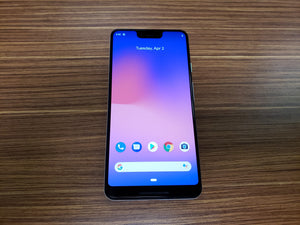Google Pixel 3 XL 128GB Clearly White - G013C (Unlocked) Good-Fair Condition
