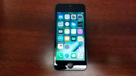 Apple iPhone 5 16GB - Black (Unlocked) Good-Fair Condition