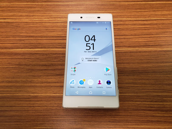 Sony Xperia Z5 E6653 - White - (Unlocked) Good Condition
