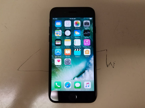 Apple iPhone 7 32GB A1778 - Black Matte (Unlocked) Good Condition