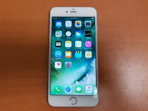 Apple iPhone 6 Plus 64GB A1522- White and Silver (Unlocked) Good Condition - gorecell