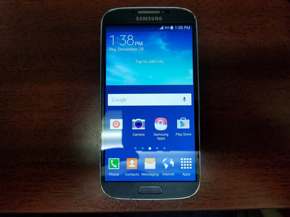 Samsung Galaxy S4 SGH-I337M 16GB Black (Unlocked) Good-Fair Condition - gorecell