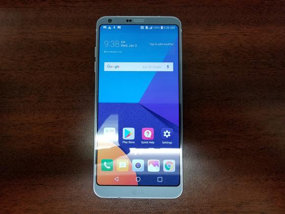 LG G6 H873 32GB Platinum - (Unlocked) - Very Good Condition - gorecell