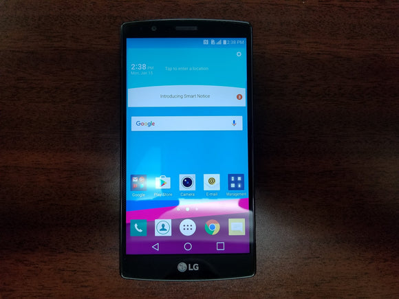 LG G4 H812 32GB Metallic Gray - (Unlocked) - Good Condition Smartphone - gorecell