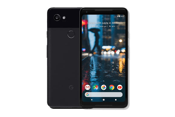 Google Pixel 2 XL 64GB Just Black - G011C (Unlocked) Good-Fair Condition