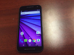 Motorola Moto G 3rd Gen XT1540 8GB - Black - (Unlocked) Good Condition - gorecell