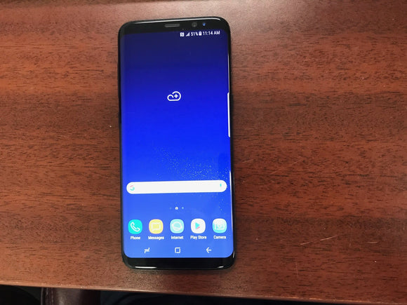 Samsung Galaxy S8 SM-G950W 64GB Midnight Black (Unlocked) Very Good Condition