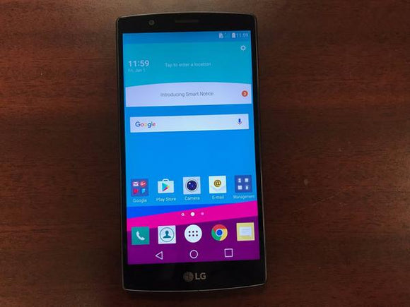 LG G4 H812 32GB Black Leather - (Unlocked) - Good Condition Smartphone