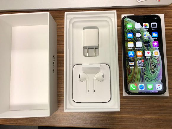 Apple iPhone XS A1920 64GB - Space Grey- (Unlocked) Excellent Condition