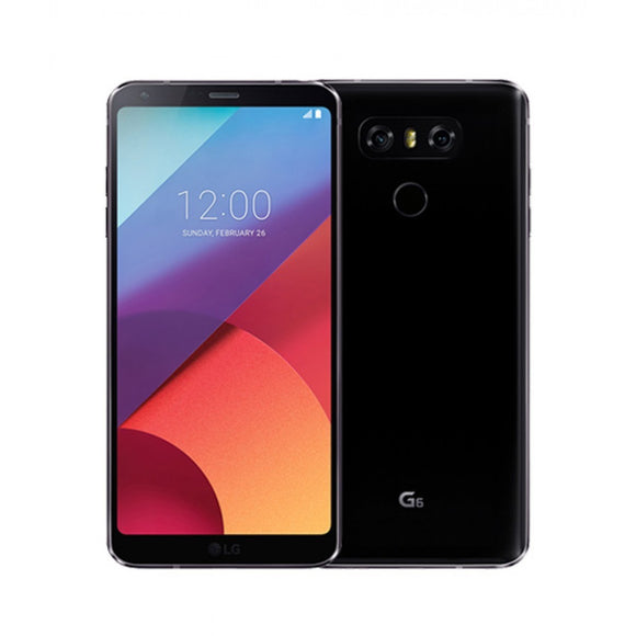 LG G6 H873 32GB Astro Black - (Unlocked) - Very Good Condition
