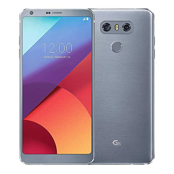 LG G6 H873 32GB Platinum - (Unlocked) - Very Good Condition
