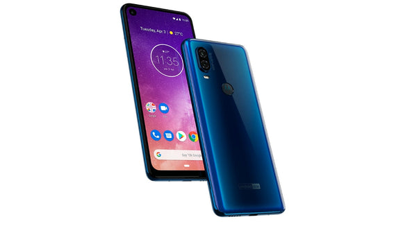 Motorola One Vision XT1970-2 128GB Sapphire Gradient (Unlocked) Good Condition