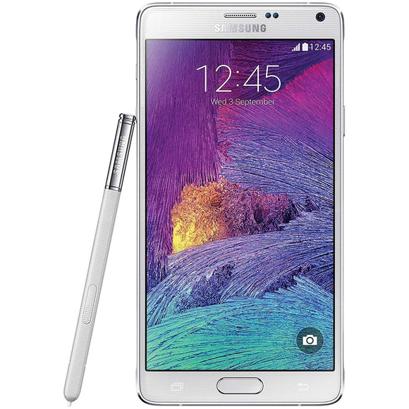 Samsung Galaxy Note 4 SM-N910W8 32GB White (Unlocked) Very Good Condition
