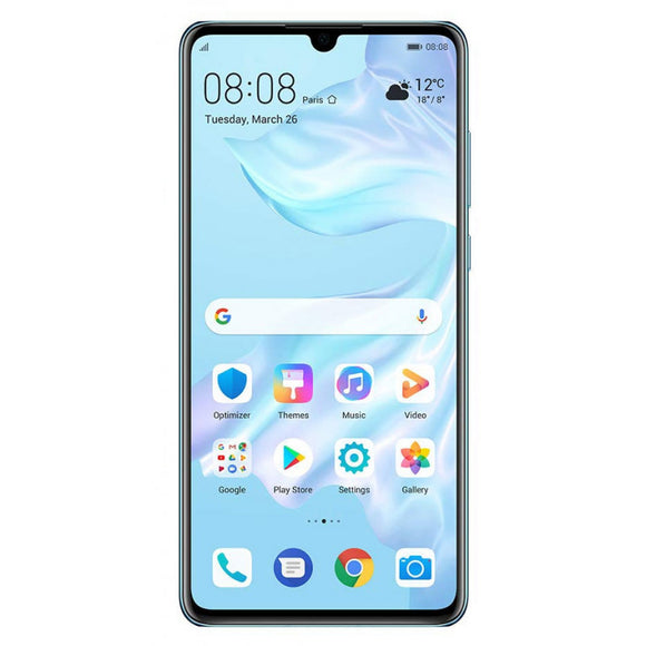 Huawei P30 ELE-L04 128GB - Breathing Crystal - (Unlocked) Very Good Condition