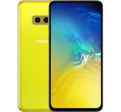 Samsung Galaxy S10e SM-G970F 128GB Canary Yellow (Unlocked) Open Box