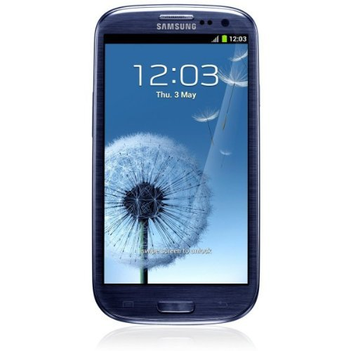 Samsung Galaxy S3 S III SGH-I747M 16GB Pebble Blue (Unlocked) Very Good Conditio