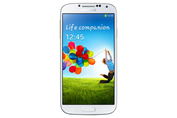 Samsung Galaxy S4 SGH-I337M 16GB (Unlocked) - White - Very Good Condition