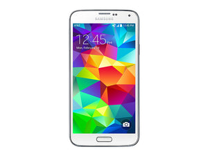 Samsung Galaxy S5 SM-G900W 16GB White (Unlocked)  Very Good Condition