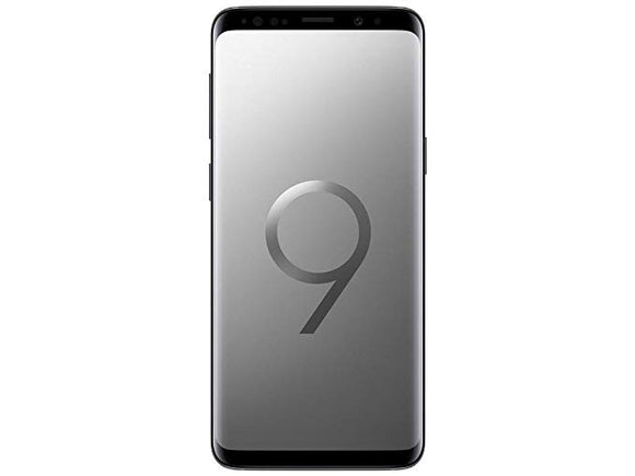 Samsung Galaxy S9 SM-G960W 64GB Titanium Gray (Unlocked) Very Good Condition