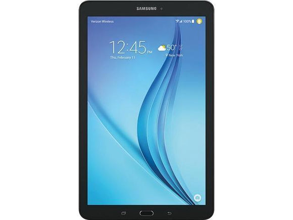 Samsung Galaxy Tab E SM-T377W 16GB (Cellular + WiFi) - Black - Very Good Cond.