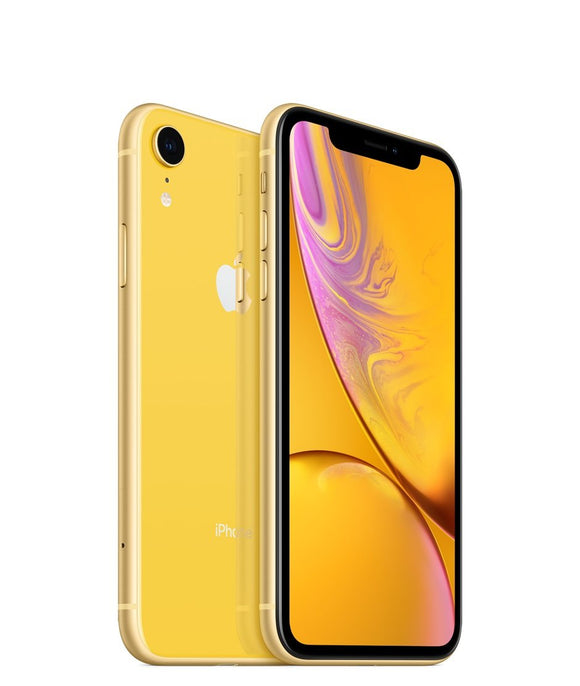 Apple iPhone XR A1984 64GB - Yellow - (Unlocked) Good Condition