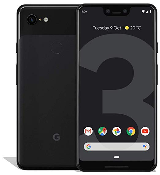 Google Pixel 3 XL 64GB Just Black - G013C (Unlocked) Very Good Condition